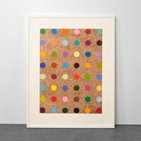 Damien Hirst, 'Carvacrol (with Bronze Glitter)', 2008