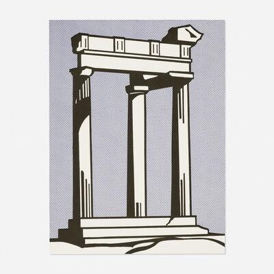 Roy Lichtenstein, 'Temple (Castelli mailer)', 1964