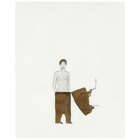 Marcel Dzama, 'Lady Bear', 1998