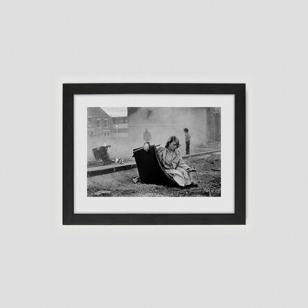 Tish Murtha, 'Karen on overturned chair', 1981