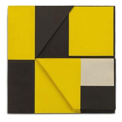Luciano Figueiredo, 'Relevo (amarelo-preto) N.1', 2010