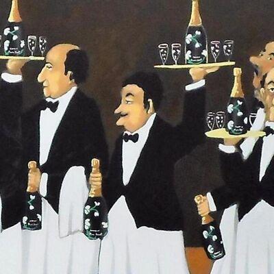 Guy Buffet, 'Flower Bottle Brigade', 1999