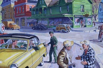 New England through the Art of Foster Caddell