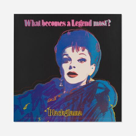Andy Warhol, 'Blackglama (Judy Garland) (from the Ads Portfolio)', 1985