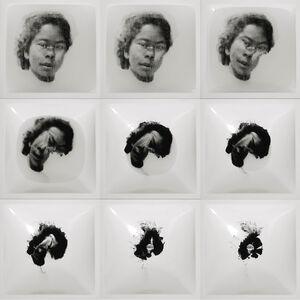 Oscar Muñoz, 'Seis Intentos', 2002