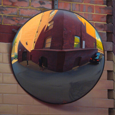 Ed Stitt, 'Large Alley Mirror', 2007