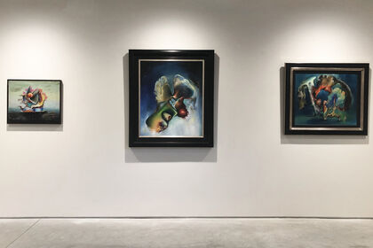 Enrico Donati: Surrealist Paintings from the 1940s