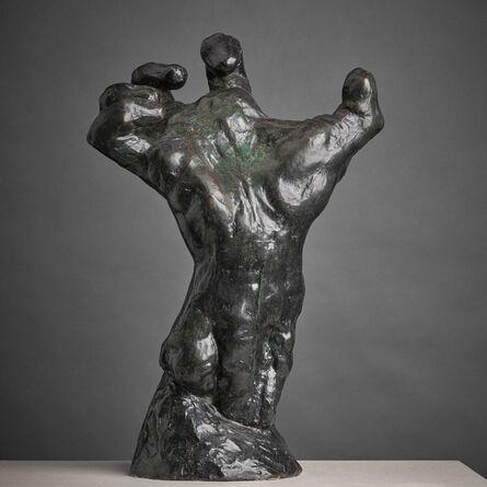 Auguste Rodin, 'The Mighty Hand (Main Crispee)', ca. 1800