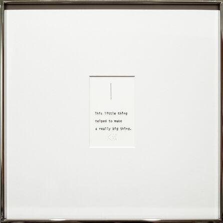 Kelly Kozma, 'This Little Thing', 2017