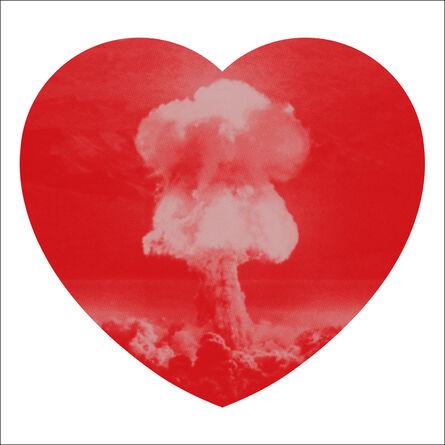 Iain Cadby, 'Love Bomb (Valentine Red)', 2019