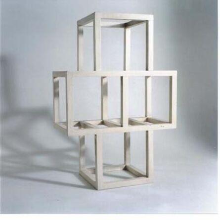 Sol LeWitt, 'Four Cubes ', 1971