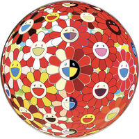 Takashi Murakami, 'Flower Ball Red (3d) - The Magic Flute', 2010