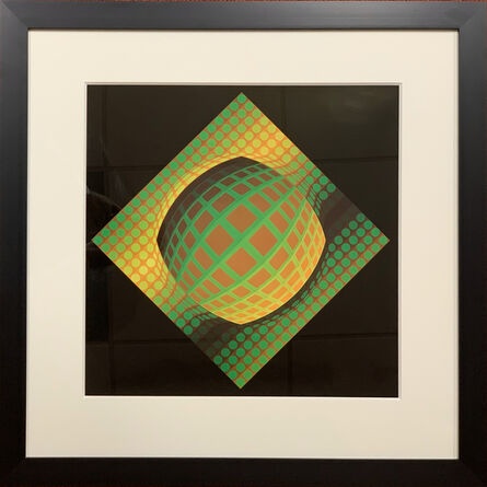 Victor Vasarely, 'Vega-Zett-01', 1974