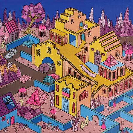 Stephanie Yong, 'Fantasy Township VI', 2019
