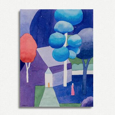 Nancy Cheairs, 'Night Landscape', 2020