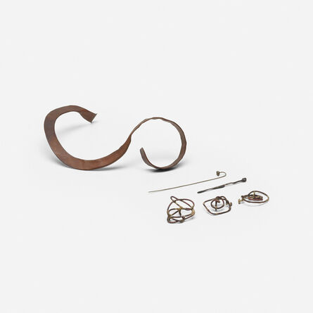 Claire Falkenstein, 'collection of jewelry', c. 1965