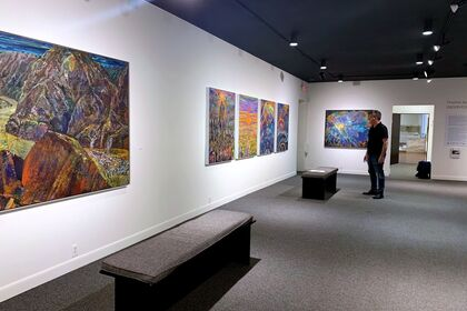 Thelma Appel Observed/Abstract Career Survey at the Brattleboro Museum & Art Center, Vermont