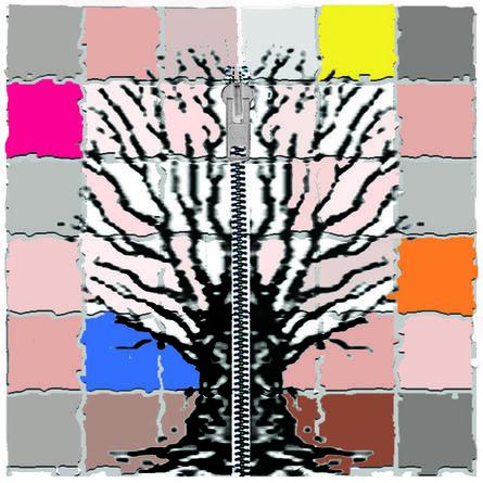 Elisa Pritzker, 'Mondian Tree 3b', 2013