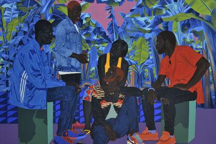 Marc Padeu, The Blue Man of Njombé