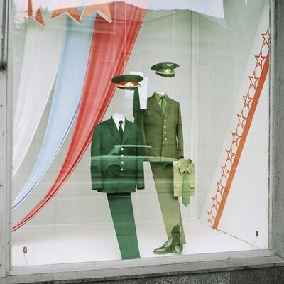 David Hlynsky, 'Uniforms, Moscow, 1990', 2013