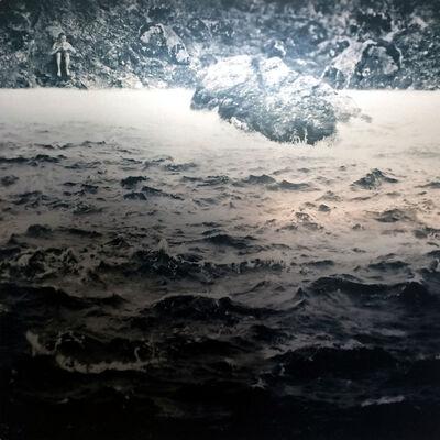 Jon McCallum, 'Figure with Cone and Ocean Waves', 2014