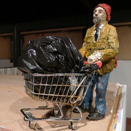 Isaac Cordal, 'Homeless', 2013
