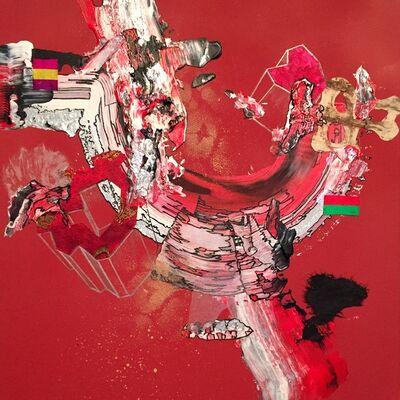 Yuni Lee, 'Efflorescence (red)', 2015