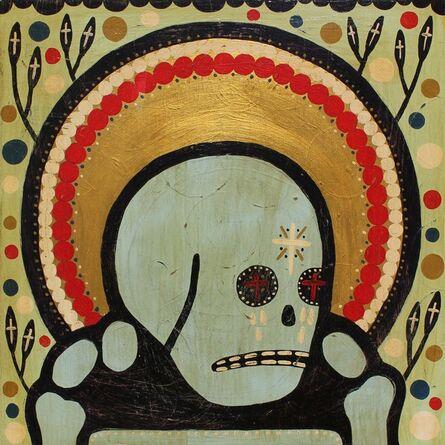 "Mike Egan, '""White Tears of a Dead Saint""', 2017"