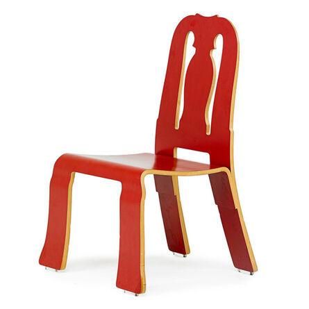 Robert Venturi, 'Queen Anne chair, USA', 1984