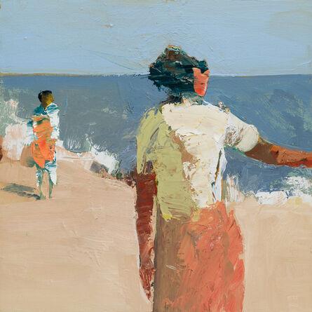 Linda Christensen, 'Orange Towel', 2015