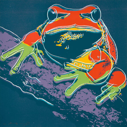 Andy Warhol, 'Pine Barrens Tree Frog, from Endangered Species (F & S. 294)', 1983