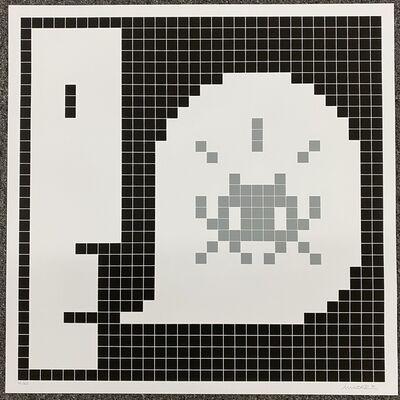 Invader, 'Alert (Gray)', 2021