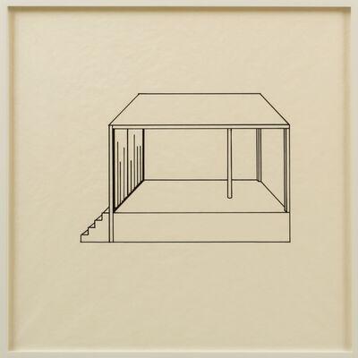 Tony Labat, 'Elevations: Platforms, Stages, & Catwalks VII', 2012