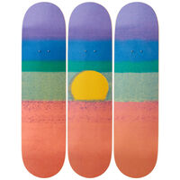 Andy Warhol, 'Sunset (Orange) Skateboard Decks', 2019