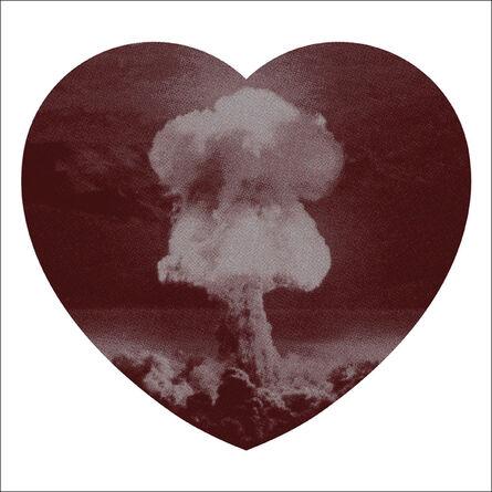 Iain Cadby, 'Love Bomb (Chocolate and Silver)', 2019