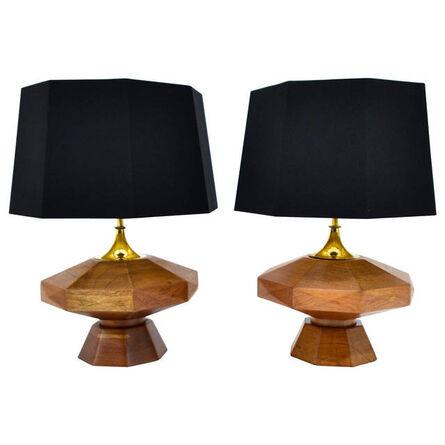 Arturo Pani, 'Arturo Pani Pair of Table Lamps', ca. 1950