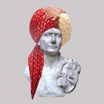 Cecilia Miniucchi, 'Roman Emperor Trajan/Multicolor Indian Turban', 2018