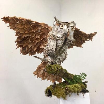 Idoline Duke, 'Shaggy Owl', 2019