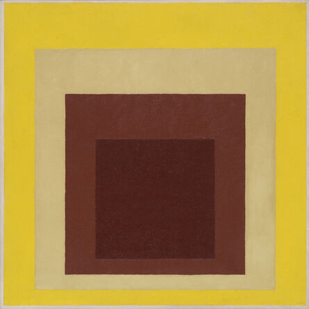 Josef Albers, 'Study to Homage to the Square', 1954