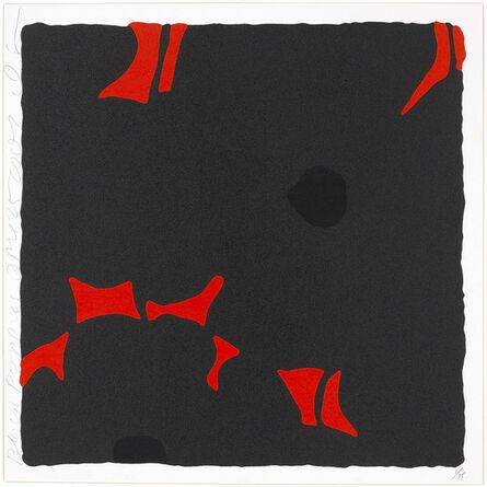 Donald Sultan, 'Black Poppies, April 25, 2007', 2007