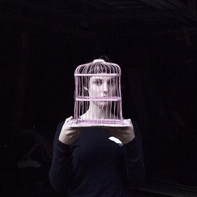 Cig Harvey, 'Sadie & The Birdcage, Tenant's Harbor, Maine', 2013