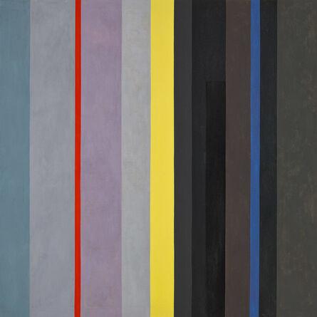 Lorser Feitelson, 'Dichotomic Organization: Stripes', 1959