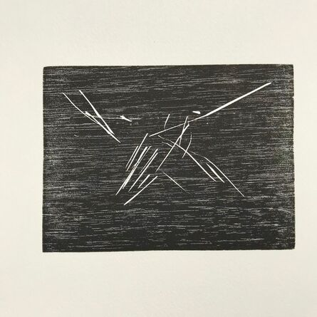 Joel Shapiro, 'Hummingbird', 1990