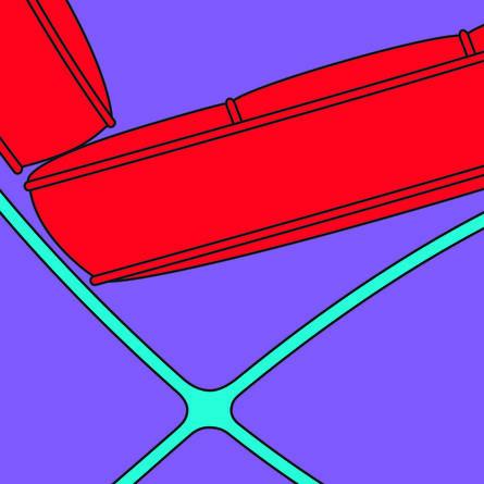 Michael Craig-Martin, 'Chair (fragment)', 2015