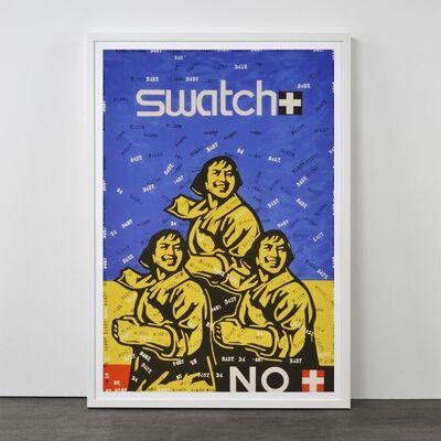Wang Guangyi 王广义, 'Swatch No (from Rhythmical Dichotomy Portfolio)', 2007-2008