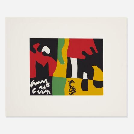 Stuart Davis, 'Untitled from the X + X (Ten Works by Ten Painters) portfolio', 1964