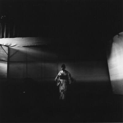 Toshio Enomoto, '077-Ms. Umeko Kushida dressing Takasago Dayu's hair', 1983