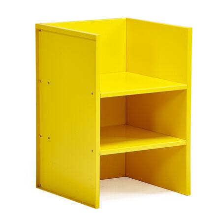 Donald Judd, 'Armchair #47 (yellow)', 1984