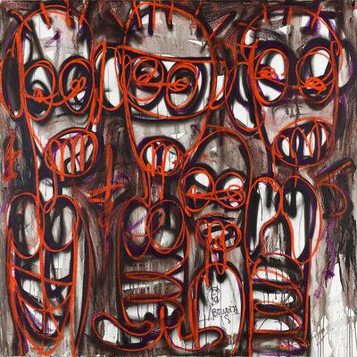 Aboudia, 'Nouchi Graffiti Series 2', 2021
