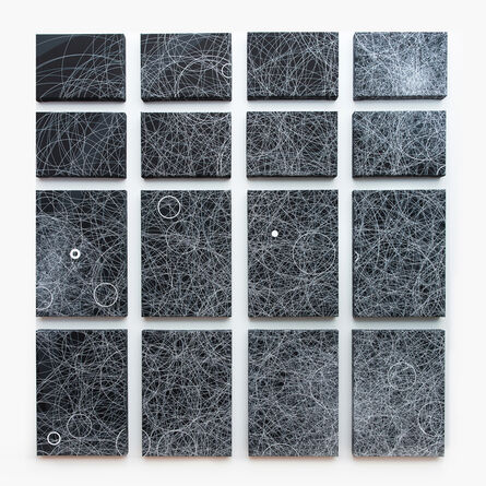 Tao Stein, 'Wall 2_Quadrant 1_top left', 2015